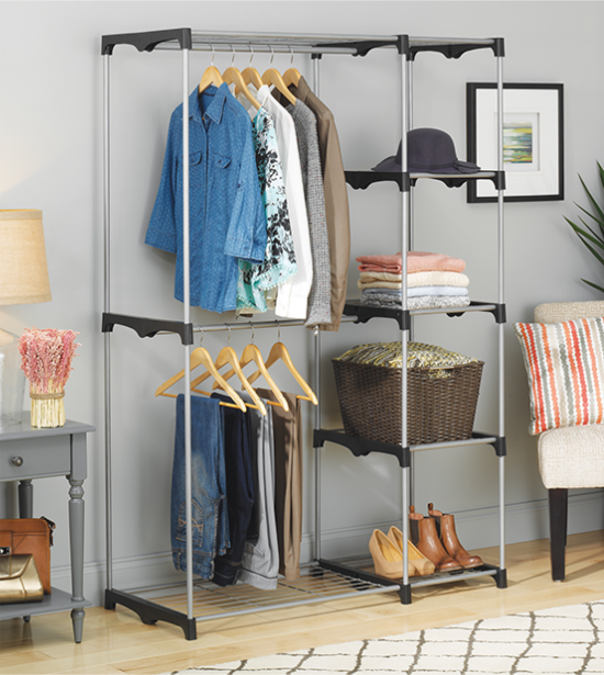 WHEN IT COMES TO CLOTHES, THERE ARE SO Many WAYS TO HANG, FOLD, STACK, HIDE  AND PILE THEM. WE JUST WANT TO HELP YOU DO IT Efficiently SO THAT YOU NEVER  HAVE ...
